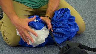 Packing a Sabre2 Parachute