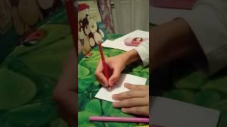Видео урок как делать оригами гадалку!😊