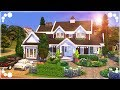 APPLEWOOD FARMHOUSE 🌺 (FAMILY HOME) | The Sims 4 | Speed Build