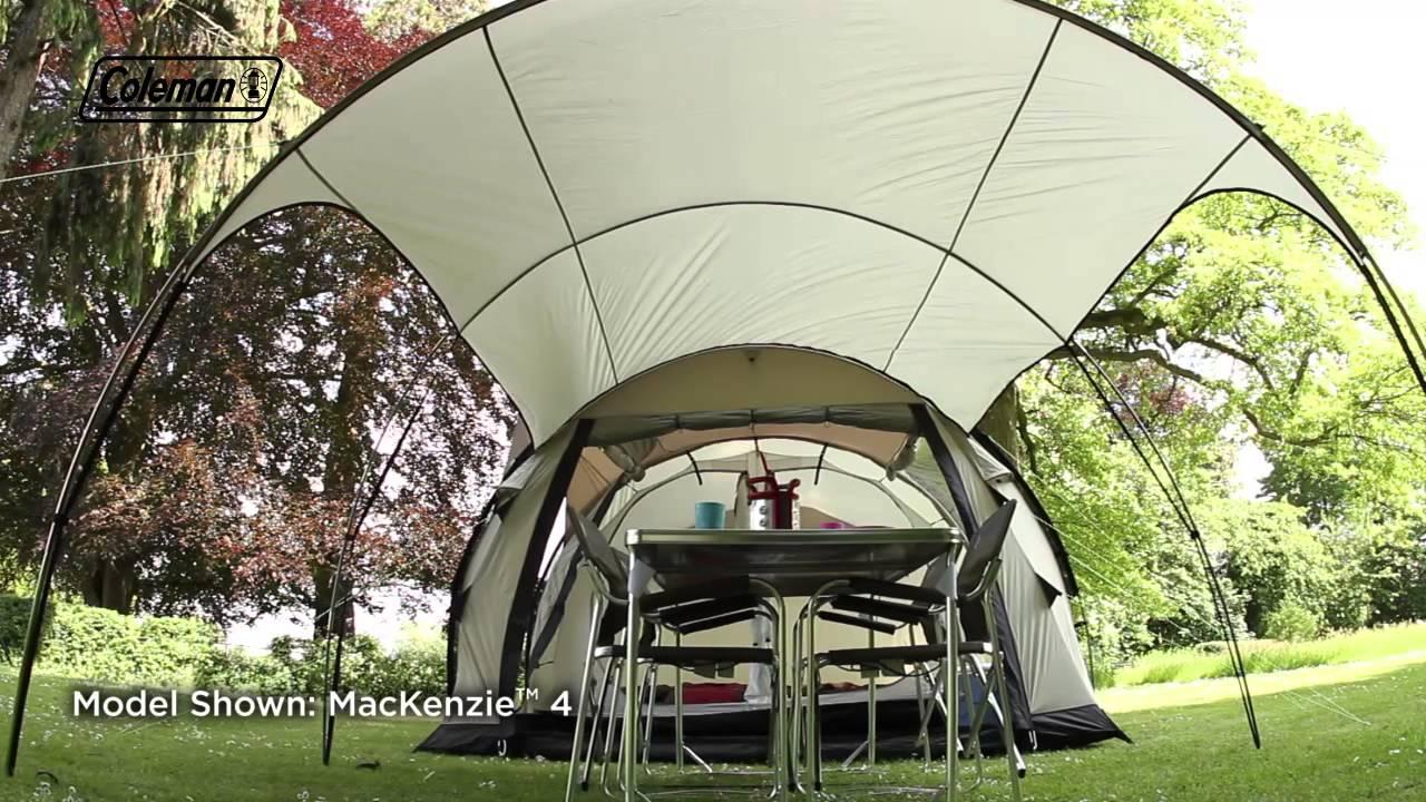 & Coleman® Mackenzie™ 6 - Premium Family Camping Tent - YouTube