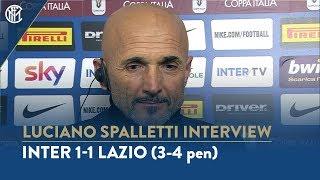 INTER 1-1 LAZIO (3-4 pen) | LUCIANO SPALLETTI INTERVIEW: