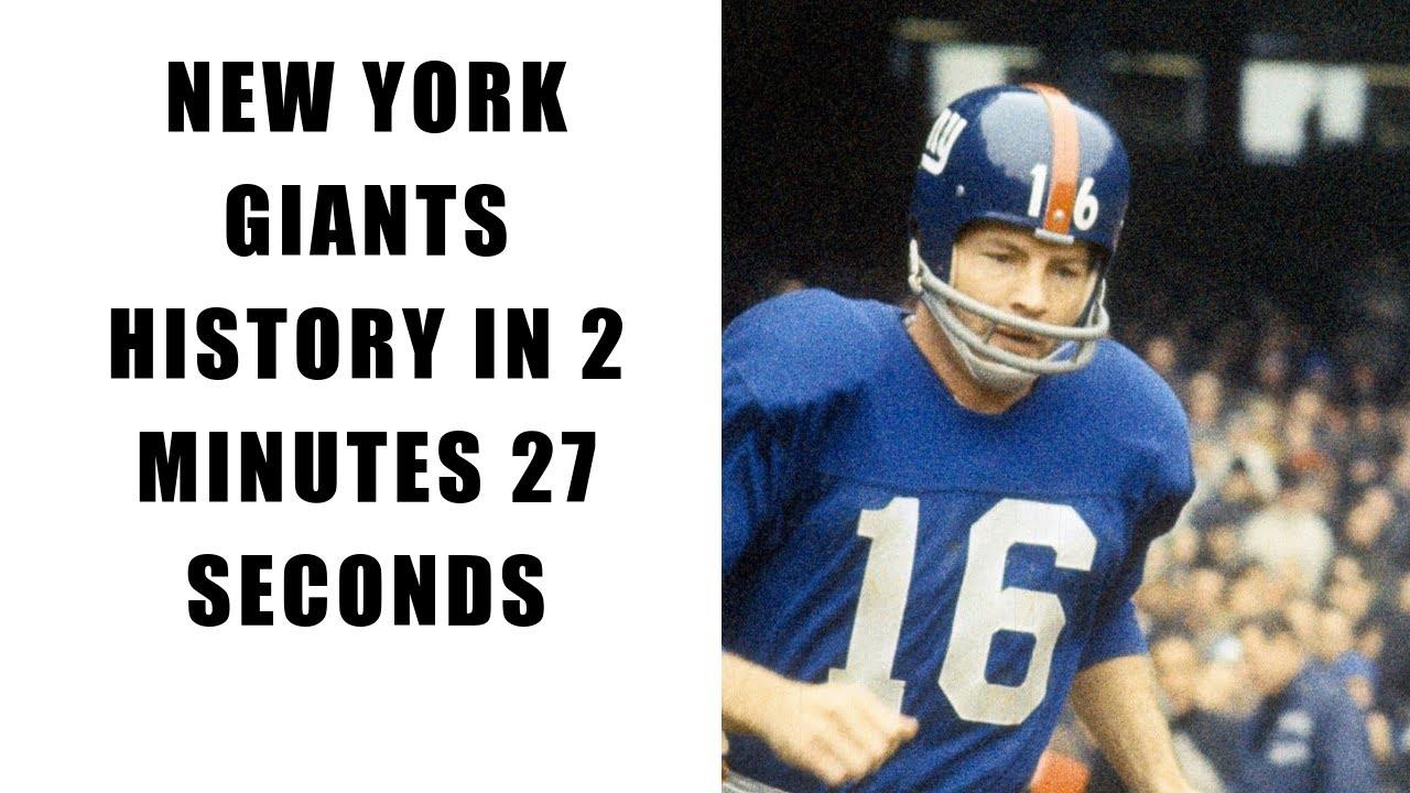 e43475fd New York Giants Team History | Sports Team History