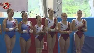 Открытие турнира по гимнастике имени Елены Замолодчиковой