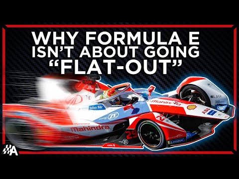 Why Don't Formula E Cars Drive Flat-Out?