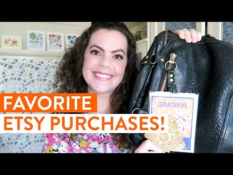 My FAVORITE Things I've Bought from Etsy Sellers and Handmade Makers