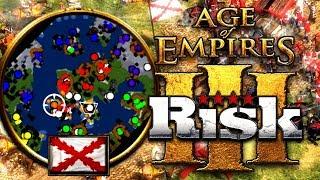 El IMPERIO de la INMUNDICIA en AGE of EMPIRES 3: RISK