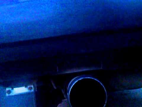 Ваз 2109 сток установлен глушитель NEX