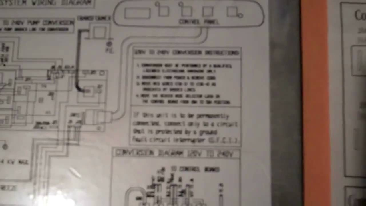 Hot Springs Sovereign Wiring Diagram Wiring Diagram For Cal Spa Hot