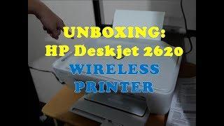 Unboxing Hp Deskjet 2620 / Wireless printer