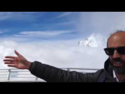 Skyway Terrazza Panoramica Del Monte Bianco Youtube