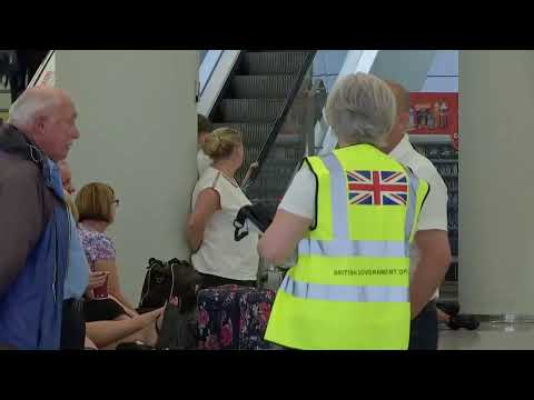 Live Now | Scene At Mallorca Airport After Thomas Cook Collappses | Shooting  Updates
