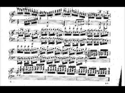 Etude in E Minor, Op. 143, No. 23 (by Friedrich Kalkbrenner, 1785-1849)