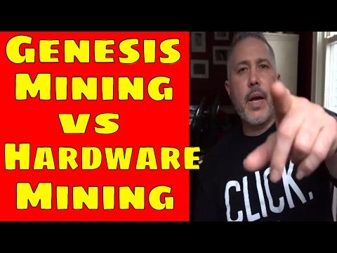 Genesis Mining vs Hardware Mining Comparison