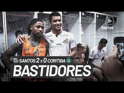 SANTOS 2 X 0 CORITIBA | BASTIDORES | BRASILEIRÃO (13/02/21)