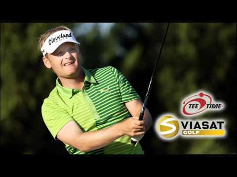 Interview med Søren Kjeldsen efter 2. runde af Castello Masters 2011, 21/10-11
