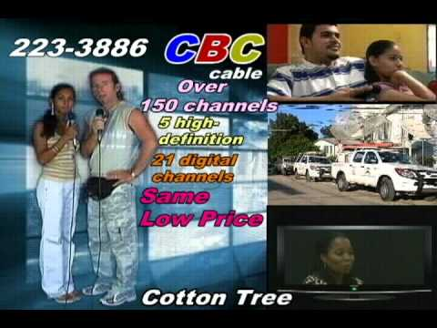 Ad for CBC Cable of Belize