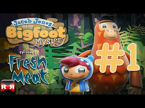 Jacob Jones and the Bigfoot Mystery: Episode 1 - iOS/Android/PS Vita - Walkthrough Gameplay Part 1