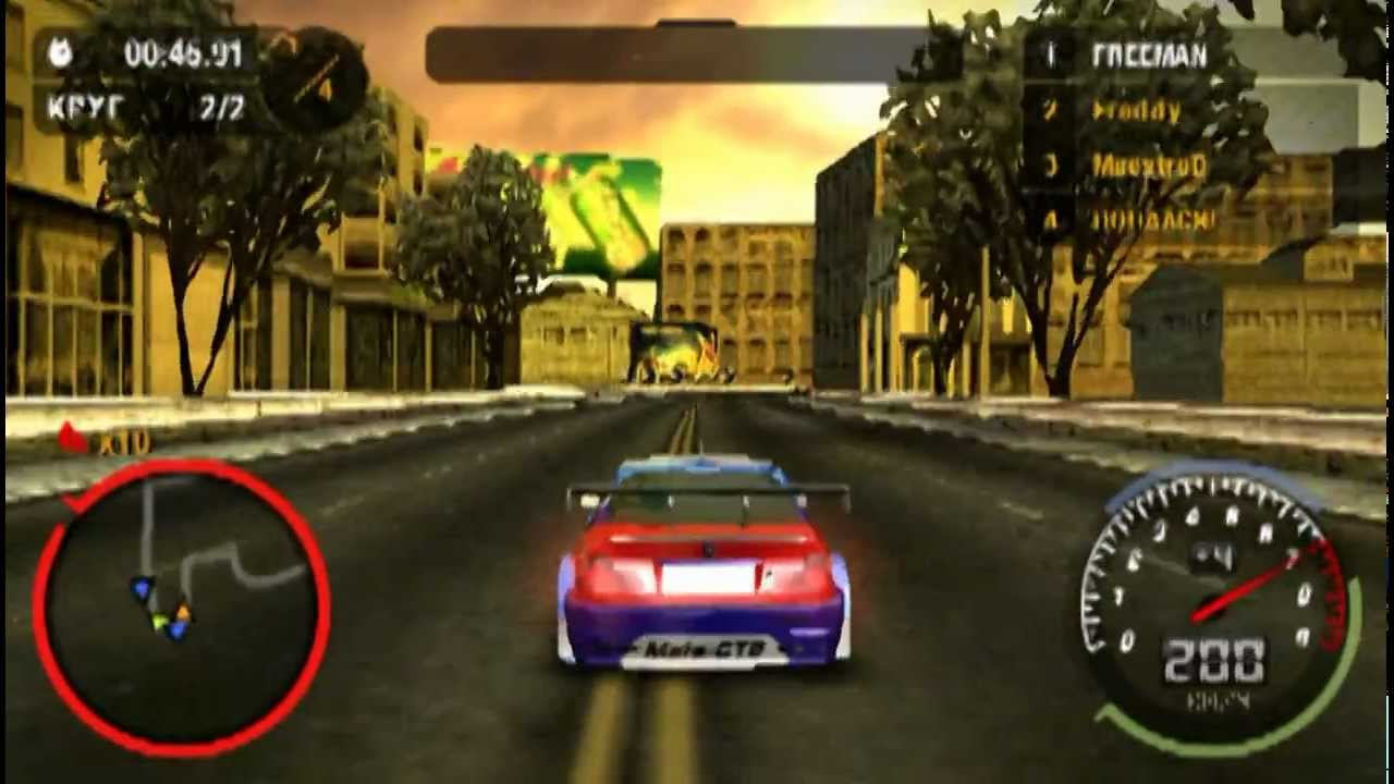 NFS Most Wanted PC Download Free PC Game
