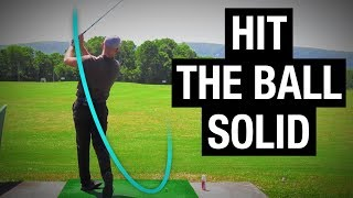 """Revolutionary """"Right Wrist Move"""" For Hitting The Ball Solid"""