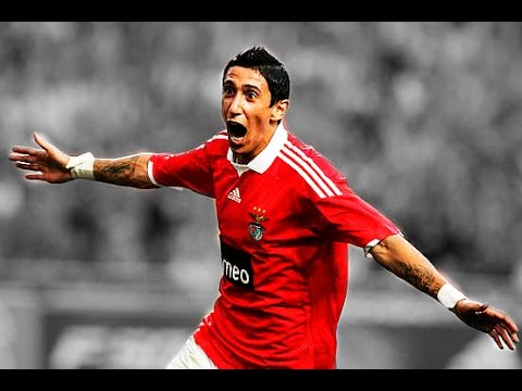 Di Maria | SL Benfica | All 15 Goals | 2007-2010 | HD