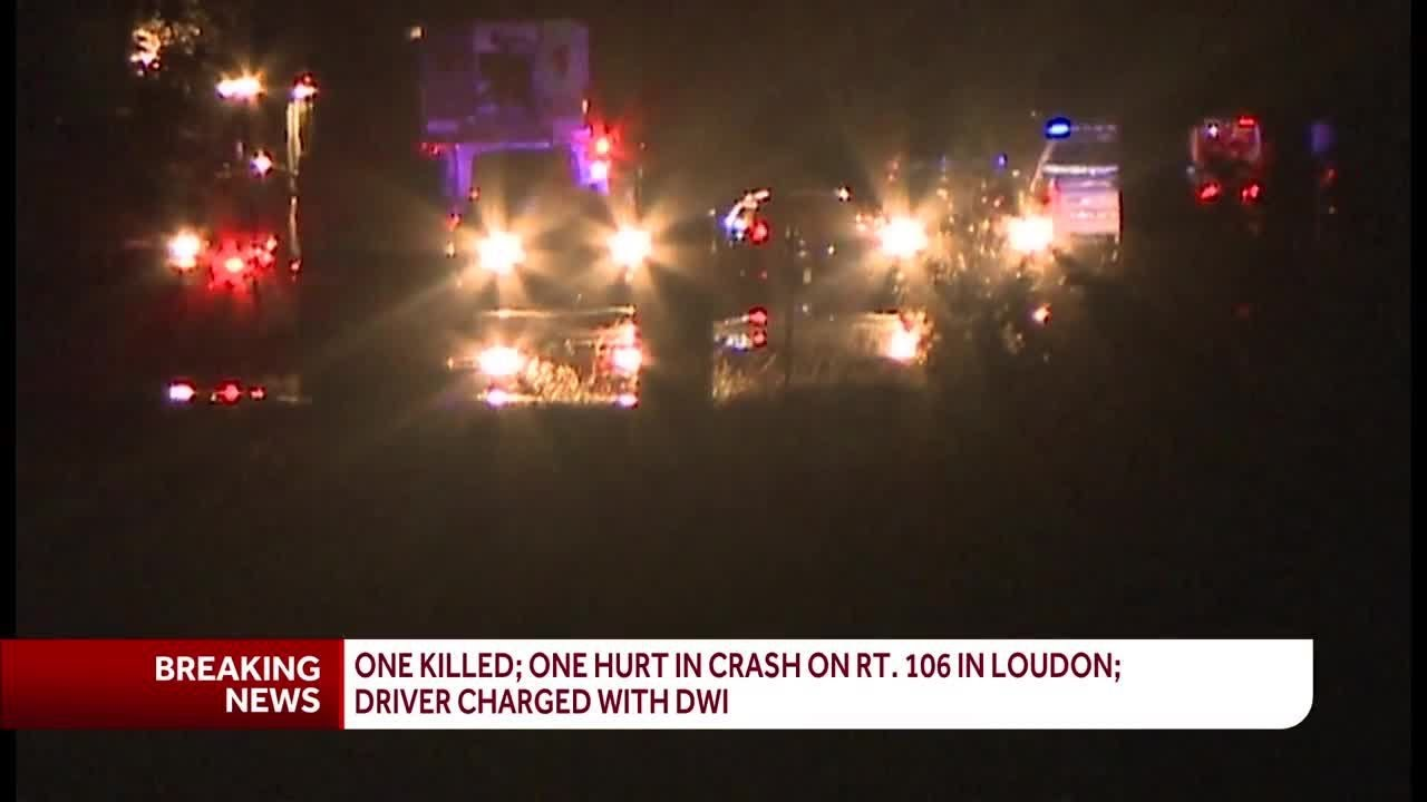 1 killed in multi-vehicle crash on Route 106 in Loudon