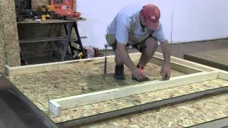 How To Build A Shed   Part 2 The Walls