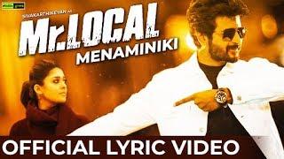 Mr.Local | Menaminiki Song Lyric Video Reaction