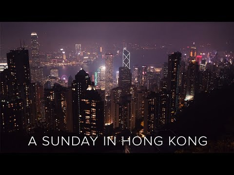 A SUNDAY IN HONG KONG