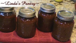 apple beer bbq sauce with lindas pantry
