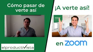 Cómo cambiar el fondo virtual en ZOOM (background) con CANVA y mejorar tus videoconferencias