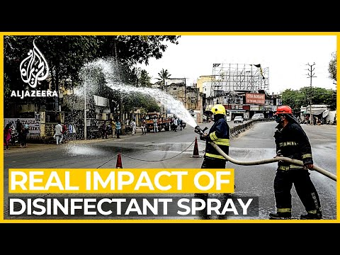 Mass Disinfection Programmes Have No Real Benefit, Expert Says
