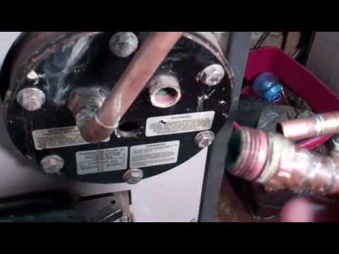 Slant Fin Boiler Domestic Hot Water Coil Replacement - YouTube
