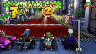 Gameplay - Chavo corriendo en la Copa Profesor Jirafales - El Chavo Kart - #Gameplay