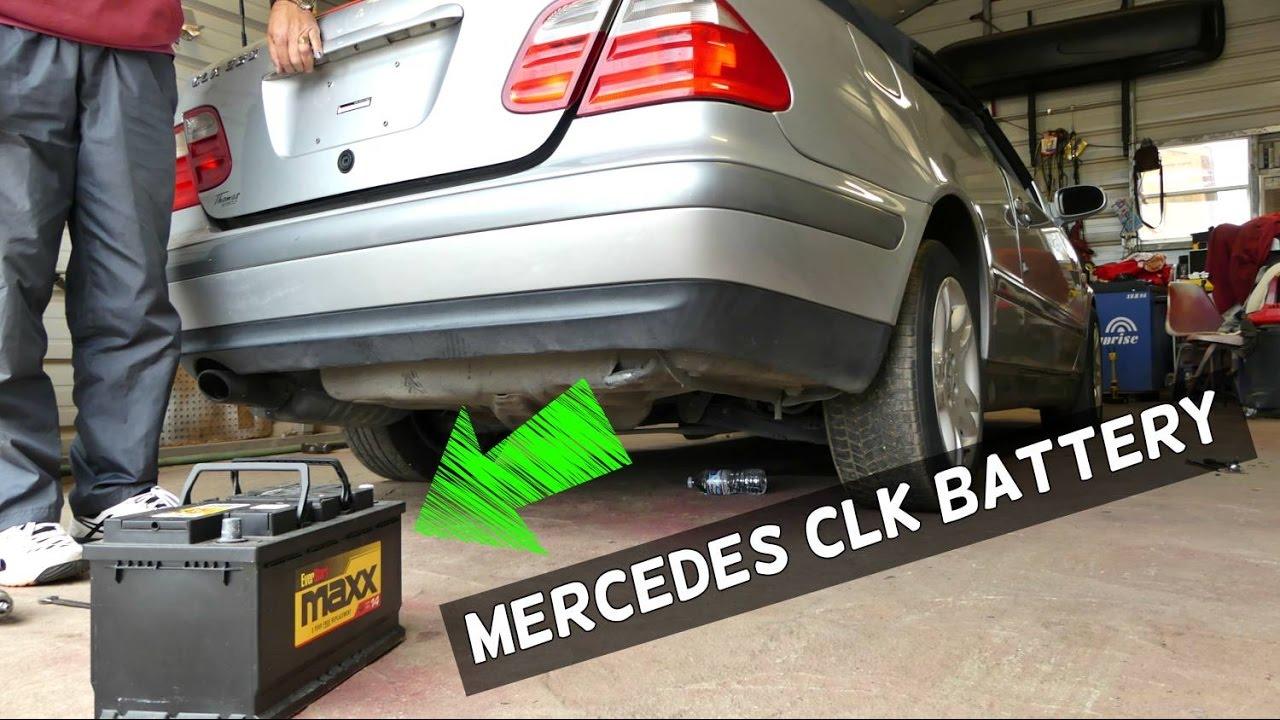 Mercedes CLK230 Kompressor 2.3 Petrol 1998 Battery