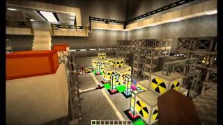 Minecraft IC2 Power Plant