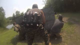 At Dead Wood town Fort Knox Paintball 2014