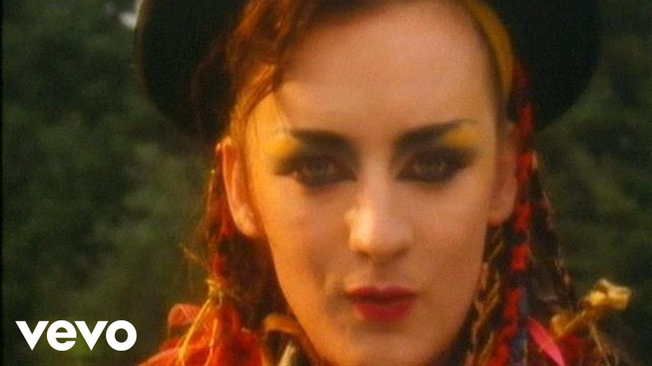 Culture Club Karma Chameleon Official Music Video Youtube