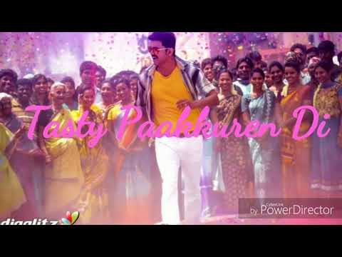 Mersal-Macho lyrical video.....