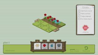 Mr. Tulip Head's Puzzle Garden // Gameplay
