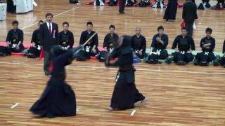 上段 山本雅彦先生 - jodan Yamamoto sensei