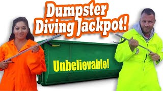 BIGGEST DUMPSTER DIVING JACKPOT Ever / ...