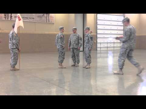 Jake's Promotion Ceremony to Sergeant (E5) on 09/27/2014