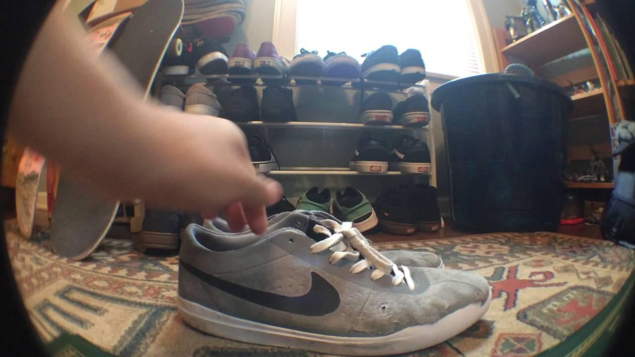 Nike SB bruin hyper feel skate shoe review