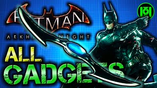 Batman Arkham Knight: ALL GADGETS | Complete Equipment Wheel Guide (Every Gadget)