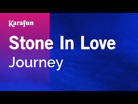 Karaoke Stone In Love - Journey *