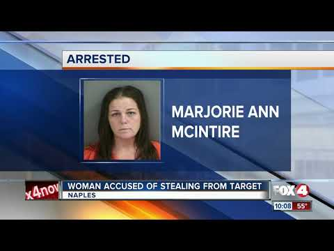 Woman Accused of Stealing from Target