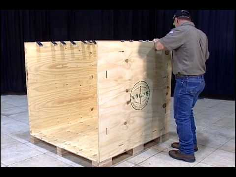 How To Assemble A You Crate® Shipping Crate