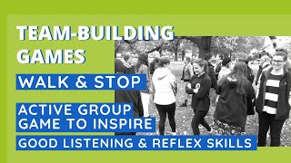 Active Game to Inspire Good Listening & Reflex Skills - Walk & Stop