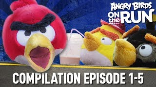 Angry Birds on The Run | Compilation Part One - Ep1-5