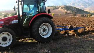 Cender in sesi BAŞAK traktöruyle onurlandı
